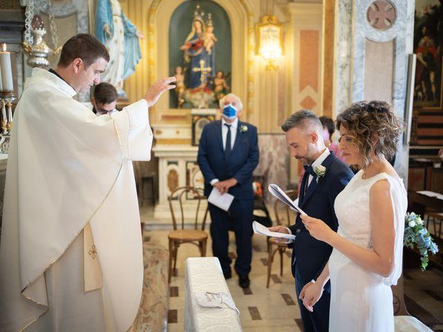 Il matrimonio di Michele e Francesca a Montemarzino, Alessandria 295