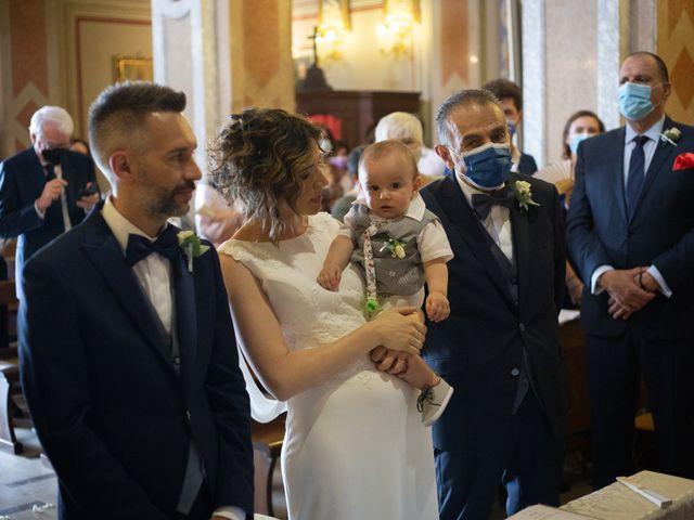 Il matrimonio di Michele e Francesca a Montemarzino, Alessandria 298