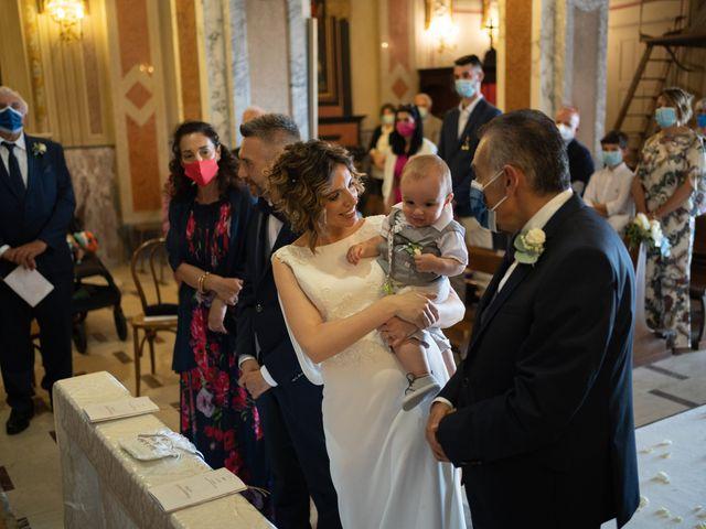 Il matrimonio di Michele e Francesca a Montemarzino, Alessandria 299