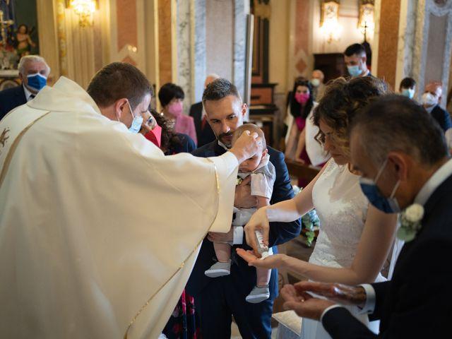 Il matrimonio di Michele e Francesca a Montemarzino, Alessandria 301