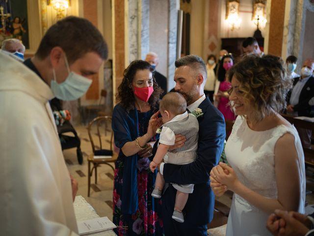 Il matrimonio di Michele e Francesca a Montemarzino, Alessandria 303