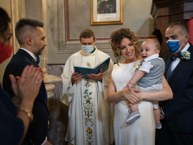 Il matrimonio di Michele e Francesca a Montemarzino, Alessandria 305