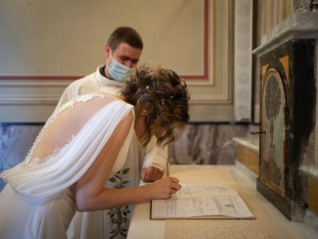 Il matrimonio di Michele e Francesca a Montemarzino, Alessandria 313