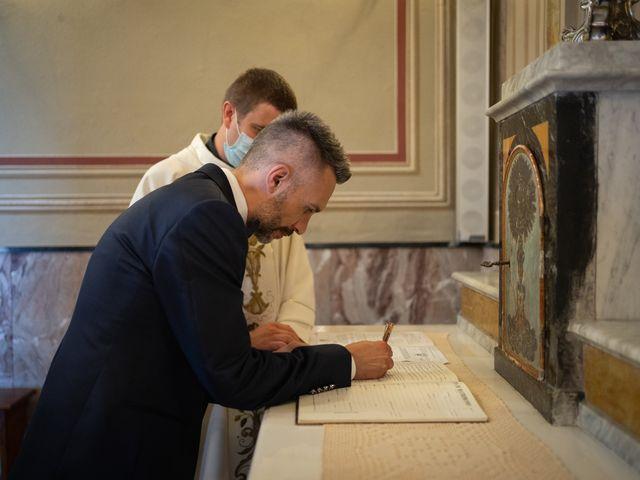 Il matrimonio di Michele e Francesca a Montemarzino, Alessandria 314