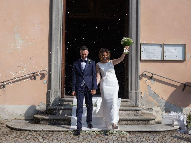 Il matrimonio di Michele e Francesca a Montemarzino, Alessandria 321