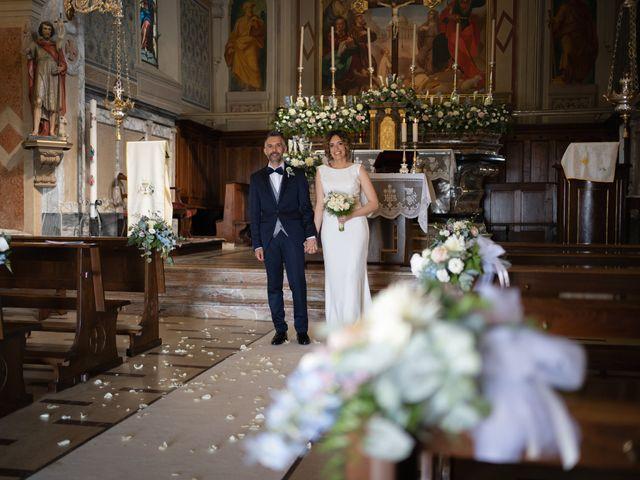 Il matrimonio di Michele e Francesca a Montemarzino, Alessandria 325