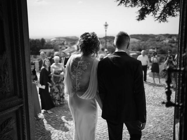 Il matrimonio di Michele e Francesca a Montemarzino, Alessandria 326