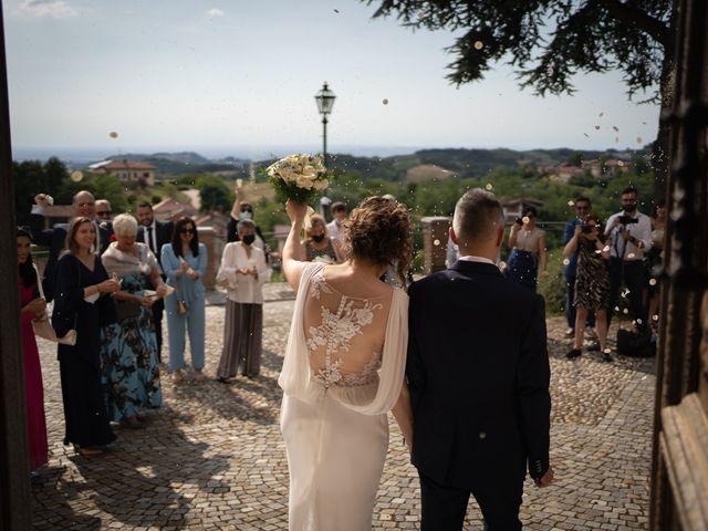 Il matrimonio di Michele e Francesca a Montemarzino, Alessandria 327