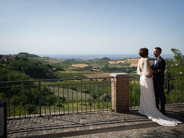 Il matrimonio di Michele e Francesca a Montemarzino, Alessandria 333