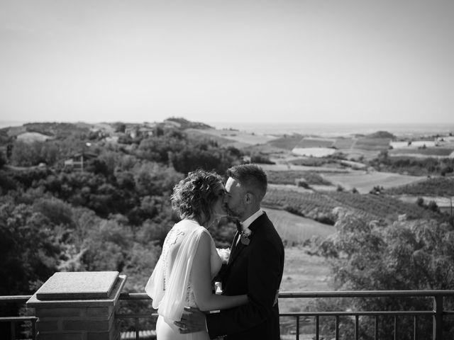 Il matrimonio di Michele e Francesca a Montemarzino, Alessandria 334