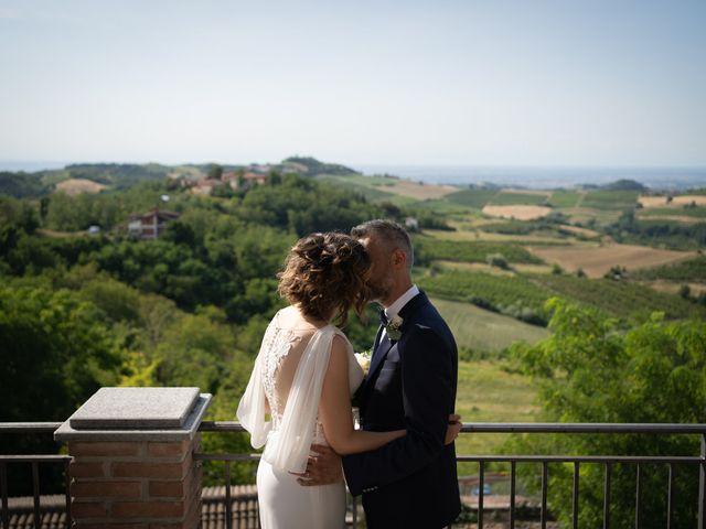 Il matrimonio di Michele e Francesca a Montemarzino, Alessandria 335
