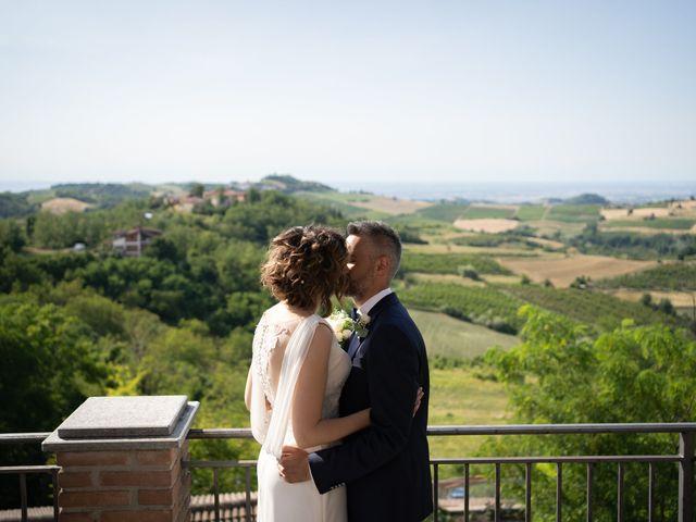 Il matrimonio di Michele e Francesca a Montemarzino, Alessandria 336