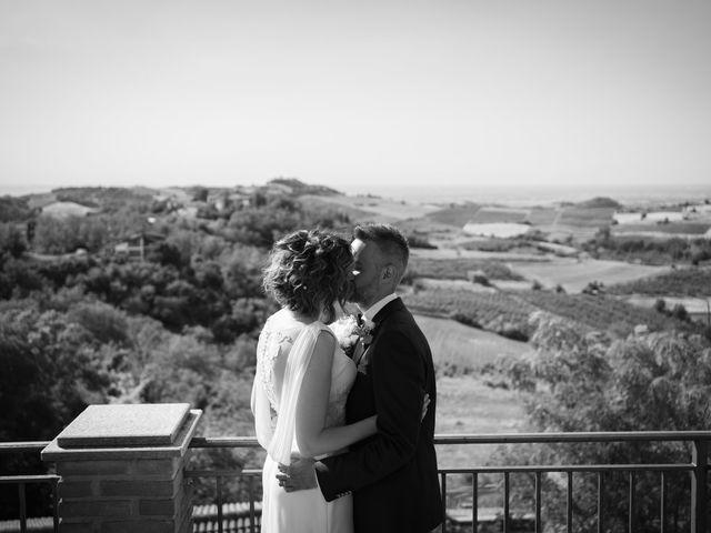 Il matrimonio di Michele e Francesca a Montemarzino, Alessandria 337