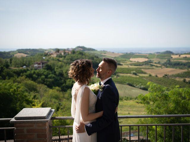 Il matrimonio di Michele e Francesca a Montemarzino, Alessandria 338