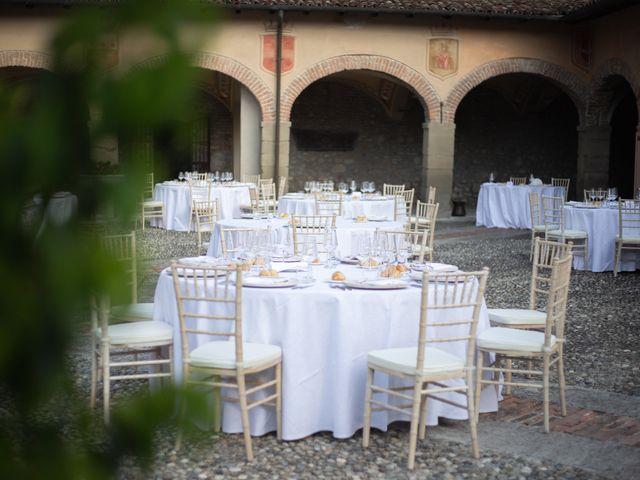 Il matrimonio di Michele e Francesca a Montemarzino, Alessandria 343