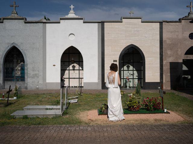 Il matrimonio di Michele e Francesca a Montemarzino, Alessandria 344