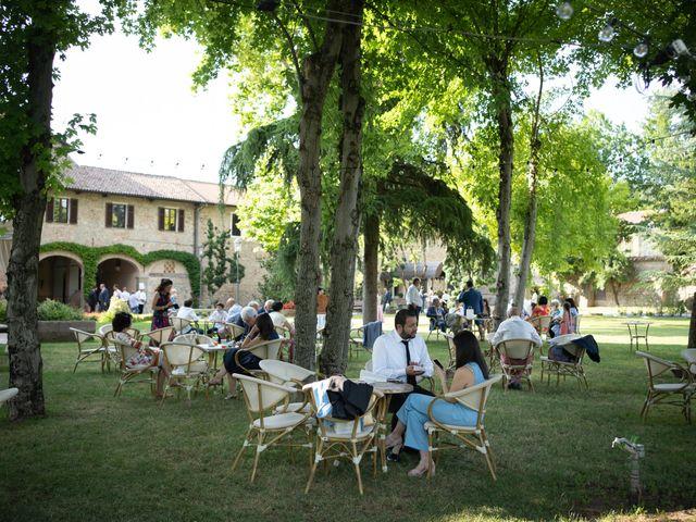 Il matrimonio di Michele e Francesca a Montemarzino, Alessandria 362