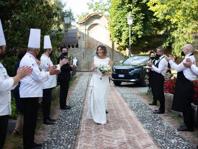 Il matrimonio di Michele e Francesca a Montemarzino, Alessandria 366