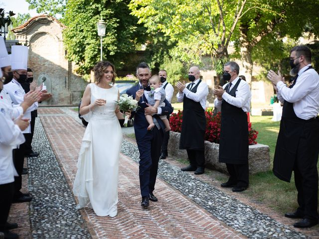 Il matrimonio di Michele e Francesca a Montemarzino, Alessandria 367