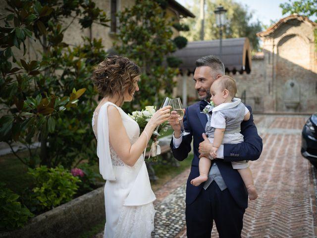 Il matrimonio di Michele e Francesca a Montemarzino, Alessandria 371