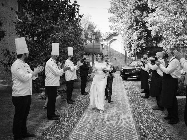 Il matrimonio di Michele e Francesca a Montemarzino, Alessandria 372