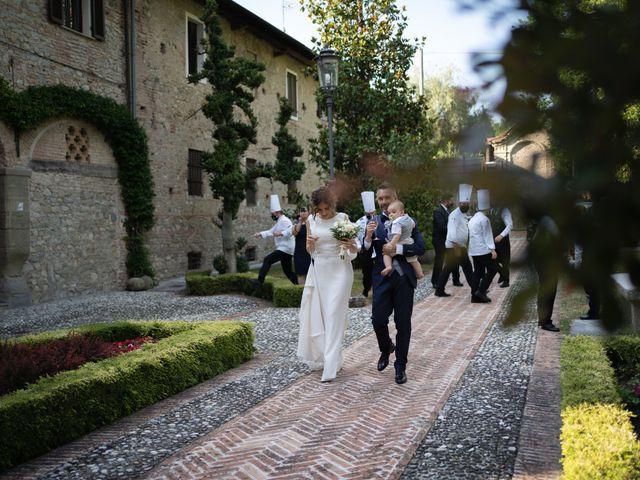 Il matrimonio di Michele e Francesca a Montemarzino, Alessandria 374