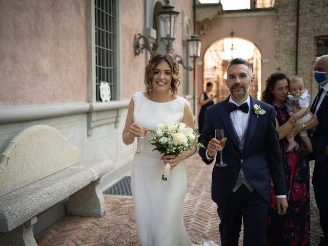 Il matrimonio di Michele e Francesca a Montemarzino, Alessandria 375