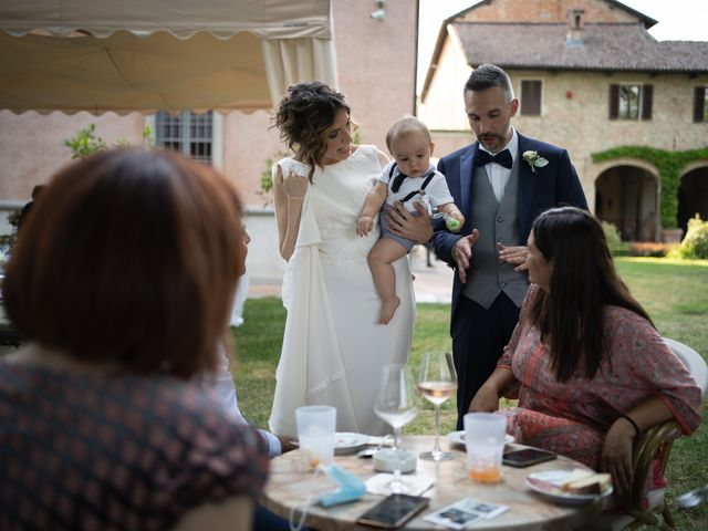 Il matrimonio di Michele e Francesca a Montemarzino, Alessandria 384