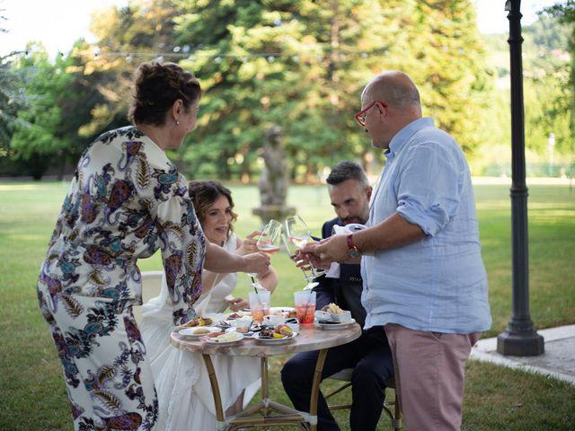 Il matrimonio di Michele e Francesca a Montemarzino, Alessandria 393