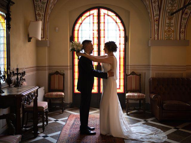 Il matrimonio di Michele e Francesca a Montemarzino, Alessandria 394