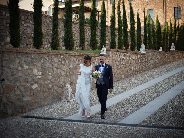 Il matrimonio di Michele e Francesca a Montemarzino, Alessandria 435
