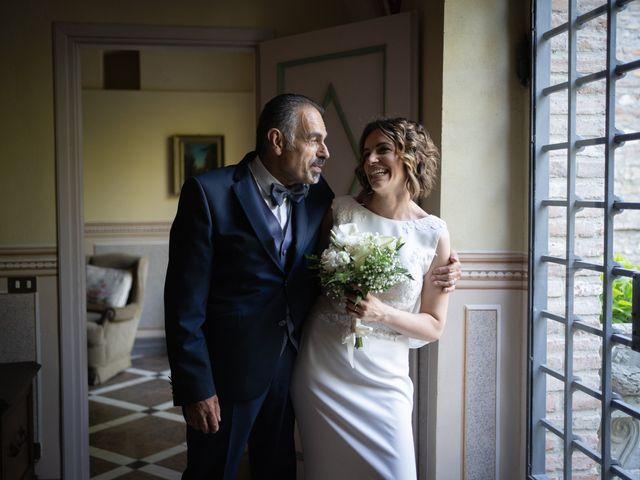Il matrimonio di Michele e Francesca a Montemarzino, Alessandria 491