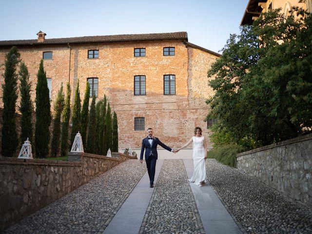 Il matrimonio di Michele e Francesca a Montemarzino, Alessandria 508