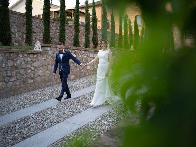Il matrimonio di Michele e Francesca a Montemarzino, Alessandria 510