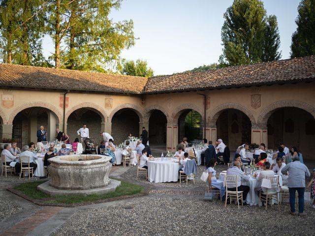 Il matrimonio di Michele e Francesca a Montemarzino, Alessandria 512