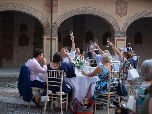 Il matrimonio di Michele e Francesca a Montemarzino, Alessandria 513
