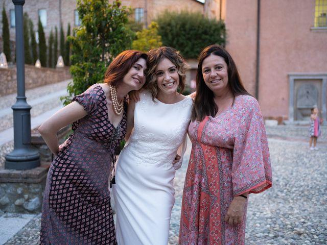 Il matrimonio di Michele e Francesca a Montemarzino, Alessandria 519