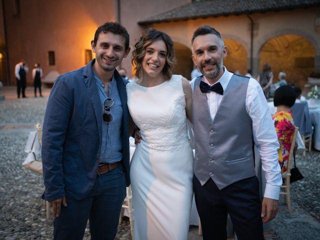 Il matrimonio di Michele e Francesca a Montemarzino, Alessandria 523