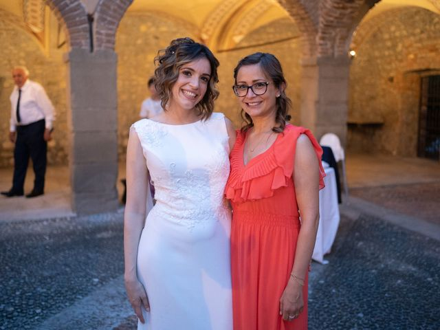 Il matrimonio di Michele e Francesca a Montemarzino, Alessandria 527