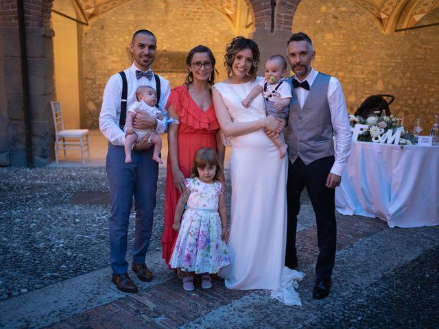 Il matrimonio di Michele e Francesca a Montemarzino, Alessandria 529