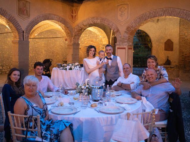 Il matrimonio di Michele e Francesca a Montemarzino, Alessandria 530