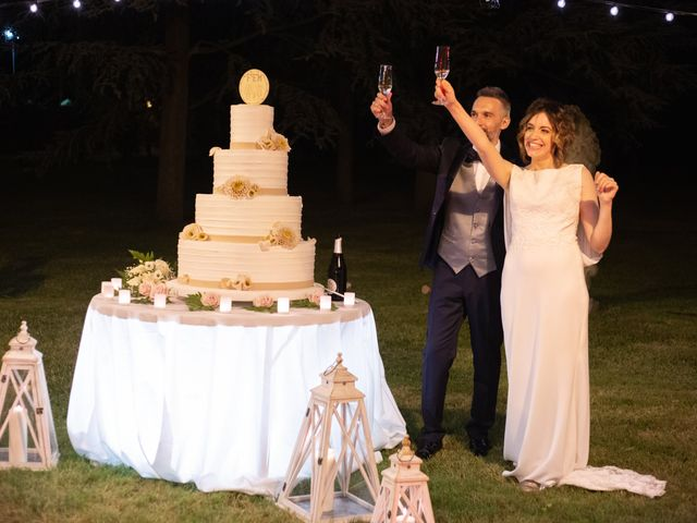 Il matrimonio di Michele e Francesca a Montemarzino, Alessandria 546