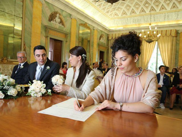 Il matrimonio di Andrea e Silvia a Giussano, Monza e Brianza 34