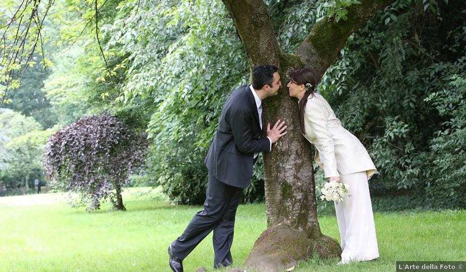Il matrimonio di Andrea e Silvia a Giussano, Monza e Brianza