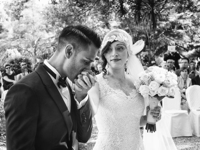 le nozze di Caterina e Kamal