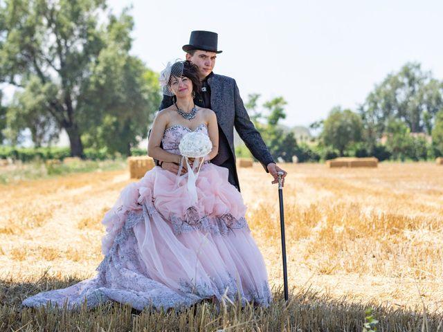 le nozze di Jessica e Maurice