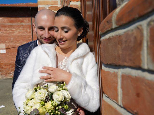 Il matrimonio di Gabriele e Marta a Oviglio, Alessandria 17