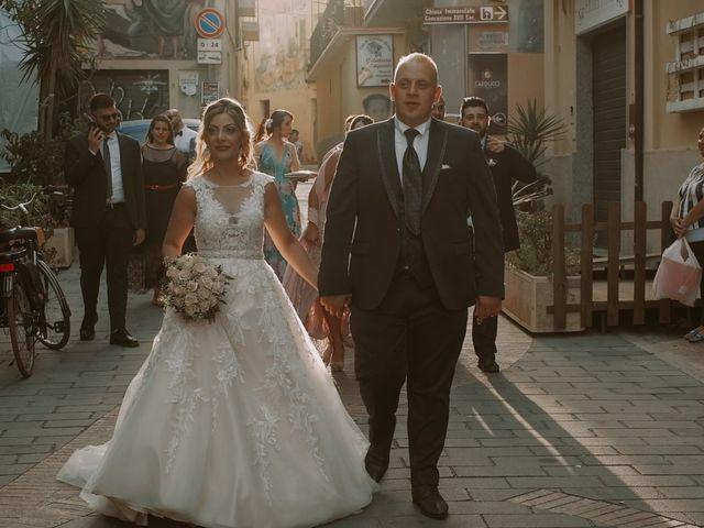 Il matrimonio di Santina e Fabio a Diamante, Cosenza 27