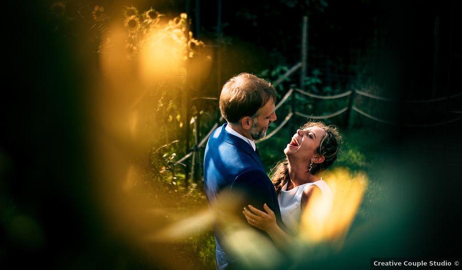 Il matrimonio di Samuel e Sara a Giusvalla, Savona