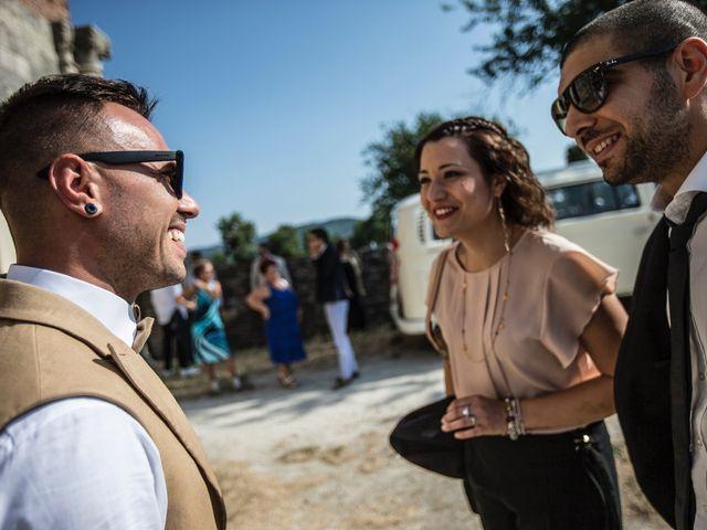 Il matrimonio di Luca e Gloria a Chiusdino, Siena 12